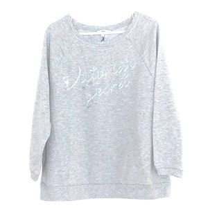 Victoria's Secret Sequin Sweatshirt - Never Worn